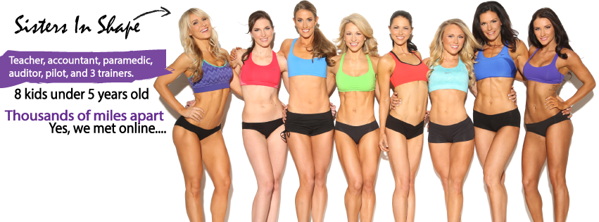 sisters in shape cover photo!
